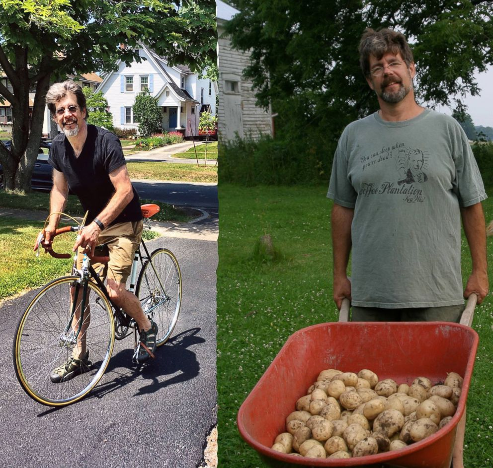 PHOTO: Doug Schmidt, of Rochester, New York, is pictured before and after his 60-pound weight loss.