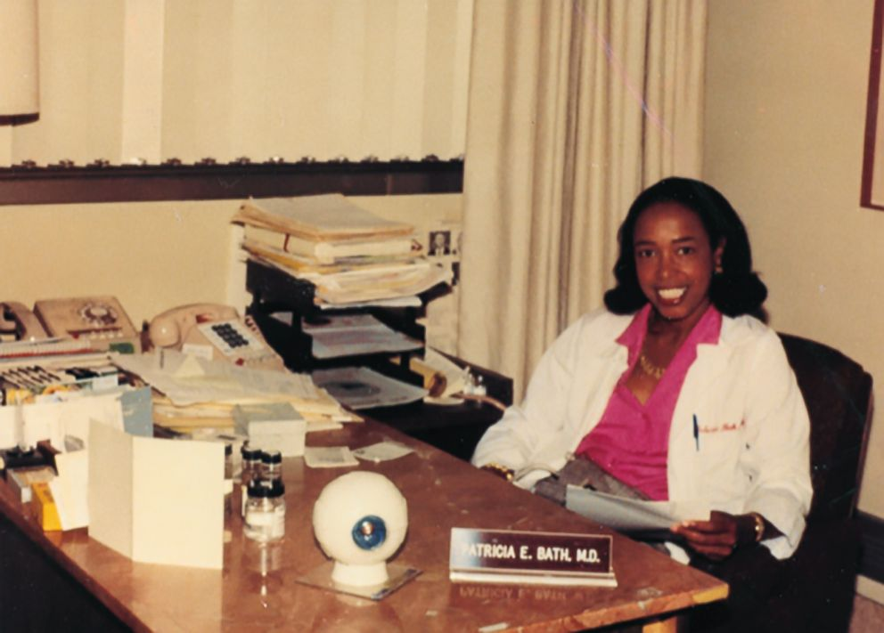 PHOTO: Dr. Patricia Bath is seen here in 1984 at UCLA.