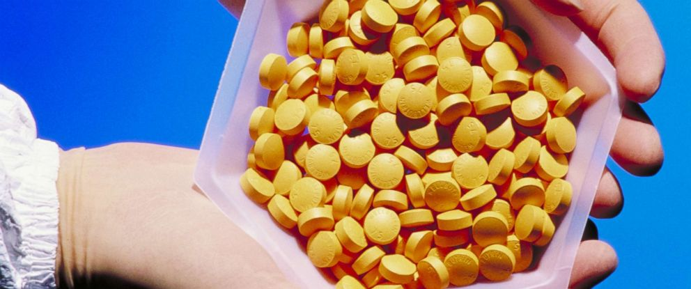 PHOTO: Drug manufacturing is pictured in this undated stock photo.