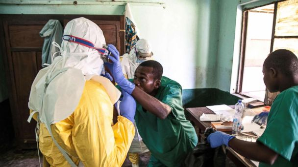 Experimental vaccine approved for use against Ebola virus in CongoSHARE:sharetweetshareemail