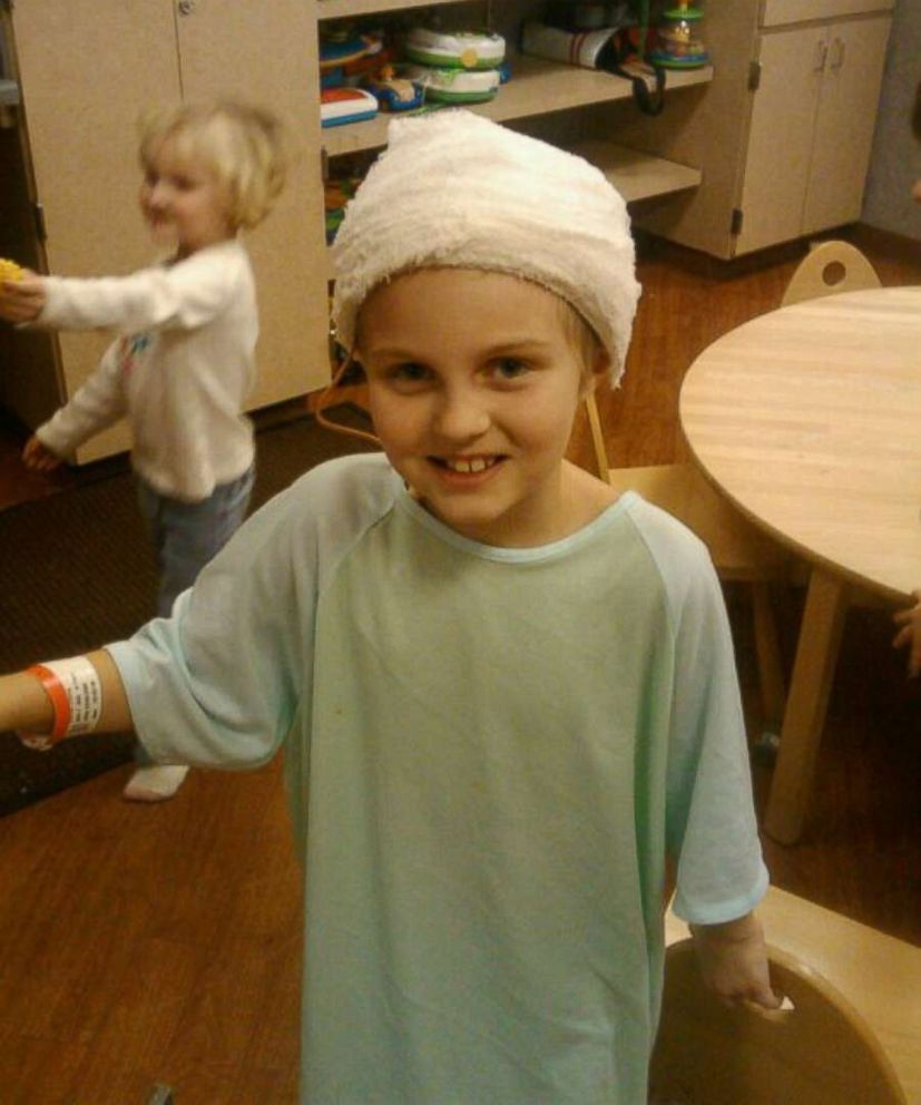 PHOTO: Emma Stumpf was just 7 and in first grade when she was diagnosed with an inoperable brain tumor. She underwent 70 weeks of chemotherapy, six weeks of radiation and 24 surgeries.