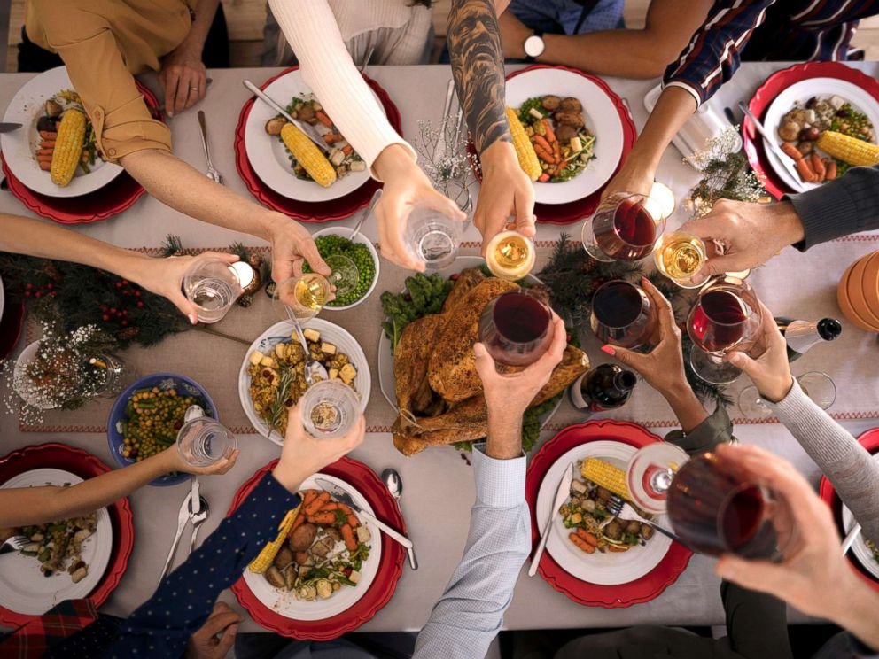 PHOTO: An undated stock photo of a Thanksgiving dinner.