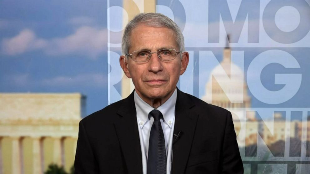 Fauci: If community spread doesn't get under control, US 'may sooner or later get another variant'