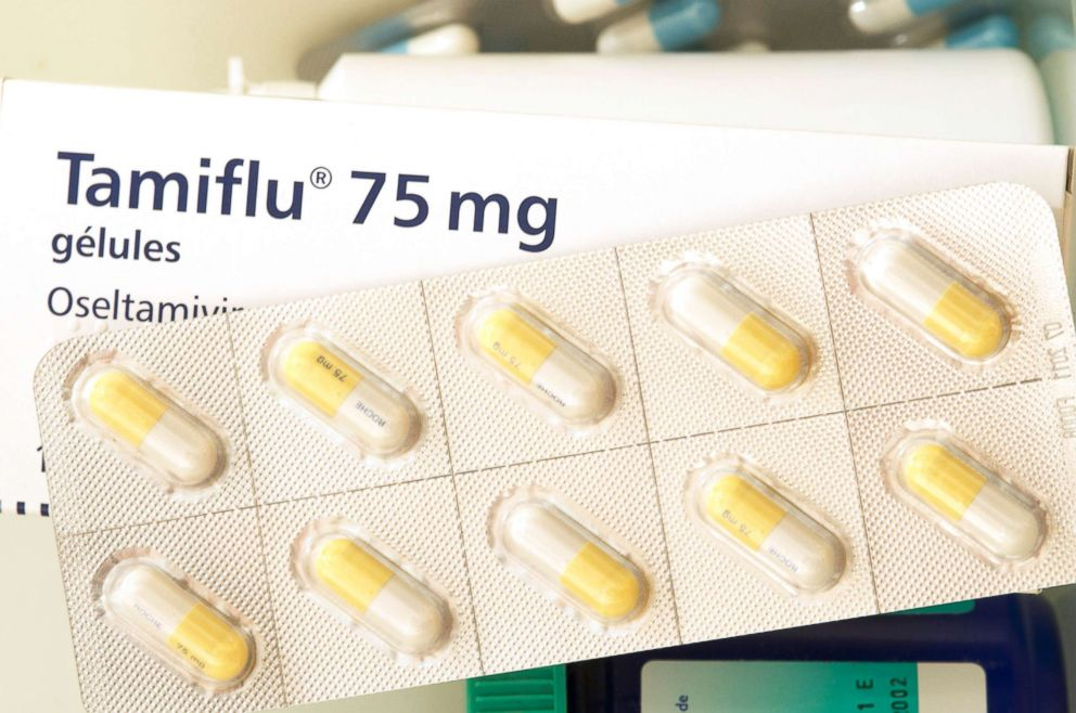 PHOTO: Tamiflu is an antiviral medicine for treatment of the flu virus.