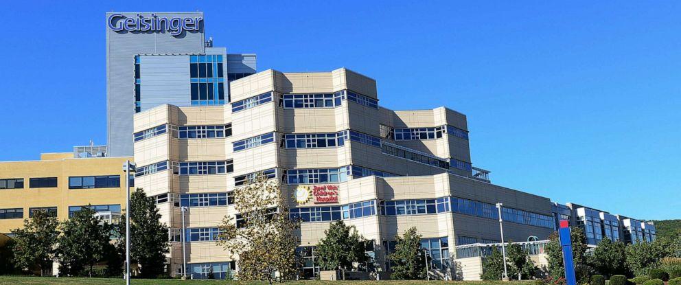 PHOTO: Exterior of Geisinger Medical Center on September 24, 2015 in Danville, Pennsylvania.