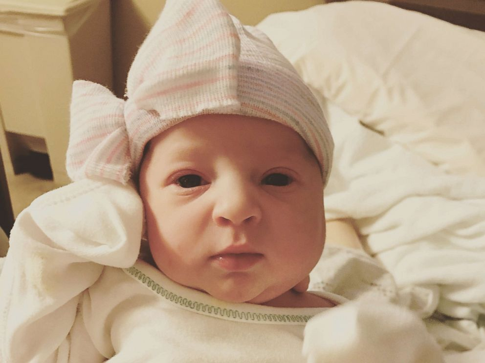 PHOTO: Emma Wren Gibson was born on November 25, 2017, and was a frozen embryo for over 24 years.