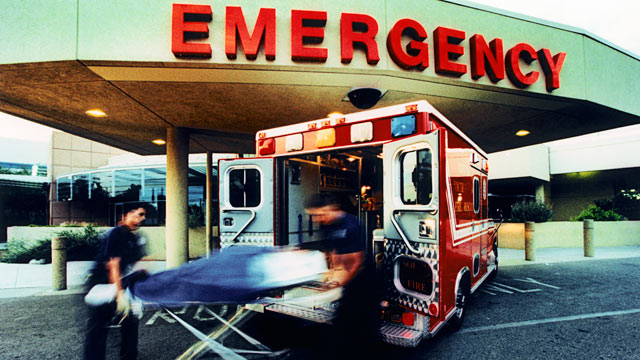 PHOTO: Hospitals are working to cut down the time it takes to treat heart attack victims.