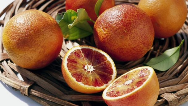 PHOTO: Blood oranges pack more vitamin C than other oranges.