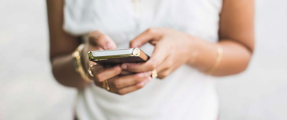 PHOTO: A person uses a cellphone in this stock photo.