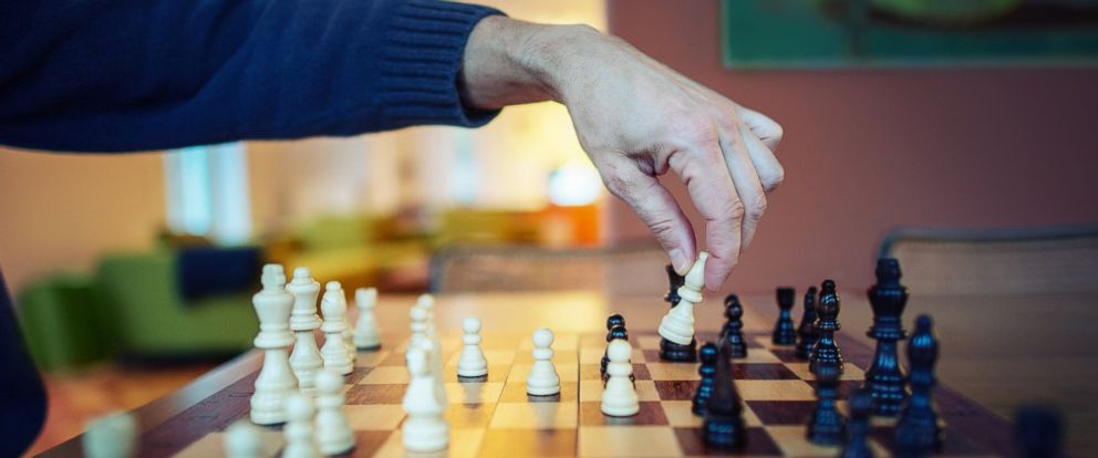 PHOTO: Playing chess may help keep your brain fit.