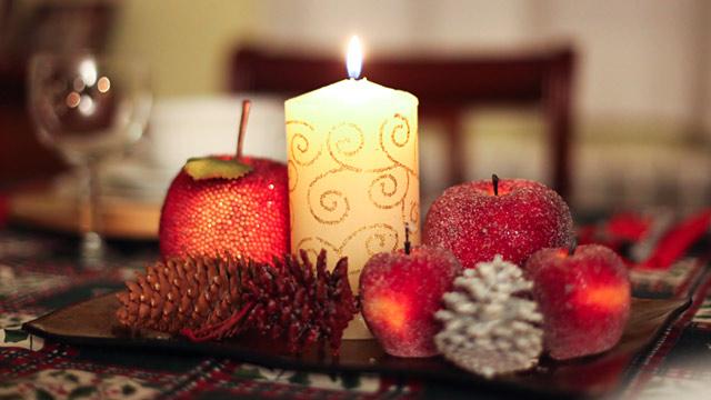 PHOTO: X-Mas candle