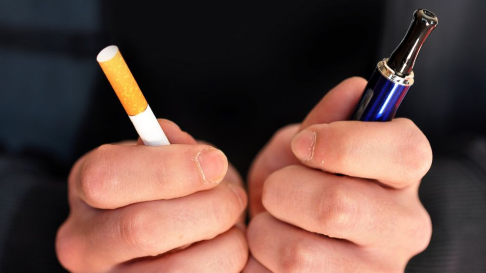 Studies haven't supported that trading cigarettes for e-cigarettes is an effective way to wean yourself off of smoking.