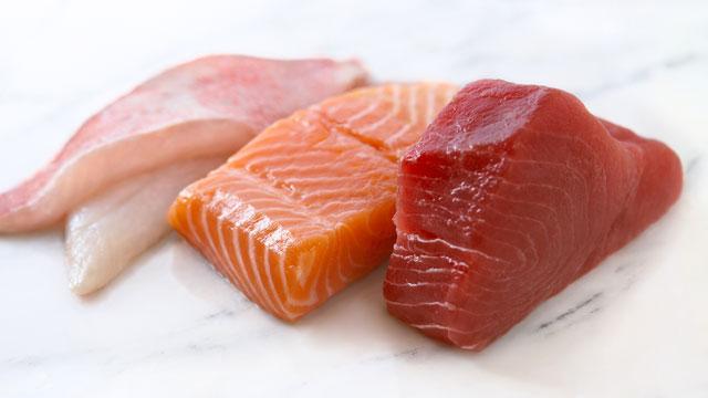 PHOTO: Sliced fish