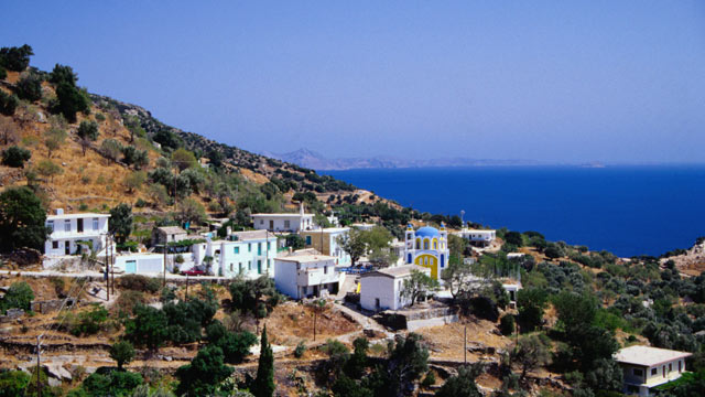 PHOTO: The Greek island of Ikaria.