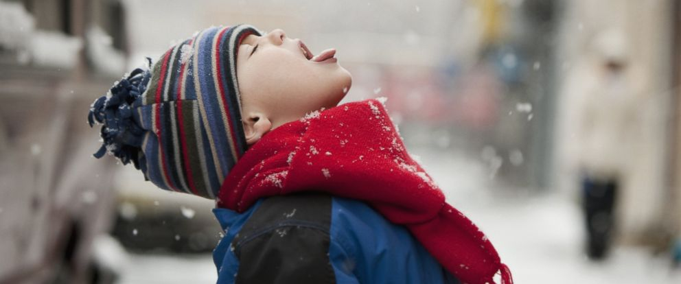 PHOTO: Being cold will not make you catch a cold or the flu.