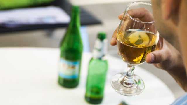 """PHOTO: The book, """"Almost Alcoholic,"""" outlines the key signs that someone might be suffering from almost alcoholism, such as drinking despite negative consequences, looking forward to drinking, drinking alone and drinking to blunt emotional or physical pai"""