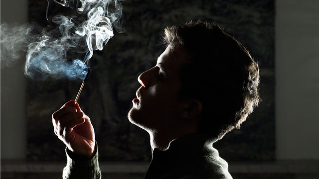 PHOTO: A new study finds marijuana use has a significantly less damaging effect on ones lungs than tobacco smoke.