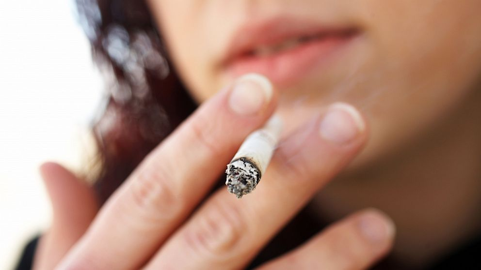 Smoking can cause weight loss, but also is dangerous for your health.