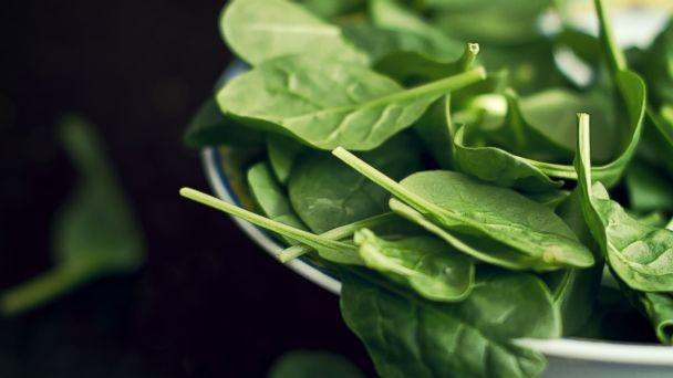 PHOTO: You can find sperm-boosting folic acid, the B9 vitamin, in leafy greens like spinach.