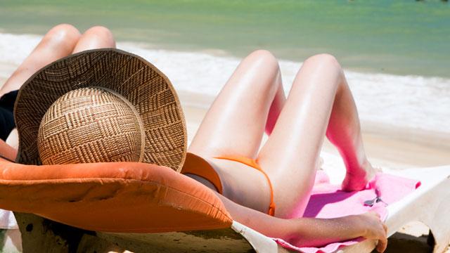 PHOTO: Melanoma rates are up among women under 40.