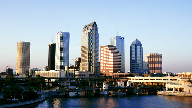Which major city is the most stressful place to live for Best places to live in tampa