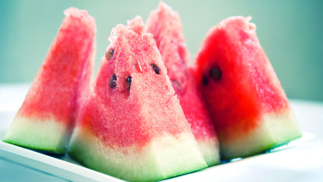 PHOTO: Watermelon is among the richest sources of lycopene, a cancer-fighting antioxidant.