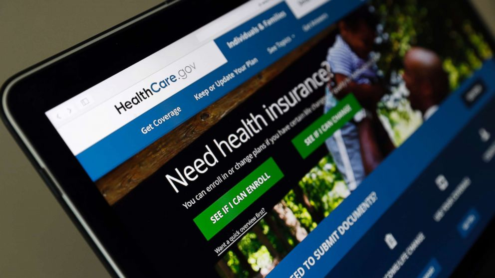 The Healthcare.gov website is seen on a laptop computer on May 18, 2017 in Washington, D.C.