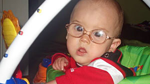 Baby Suffers From Cataracts Abc News
