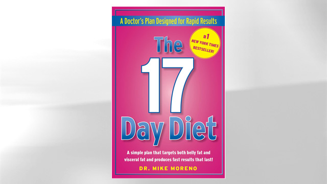 "PHOTO ""The 17 Day Diet"" by Dr. Mike Moreno"