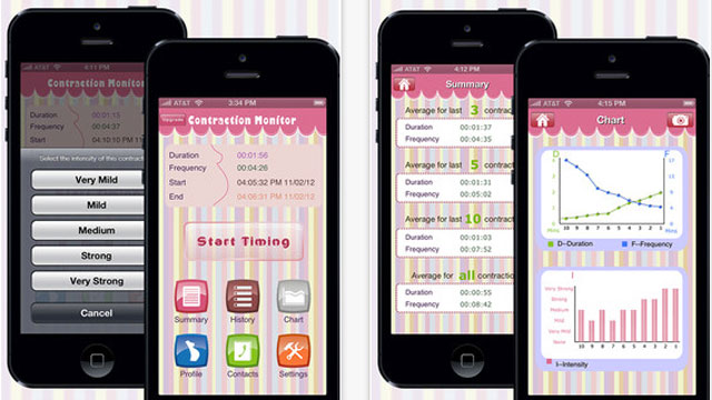 free contraction app iphone
