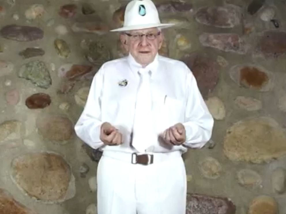 PHOTO: One-time gold prospector from Nevada, Jim Humble, calls himself an archbishop in the Genesis II Church of Health and Healing and claims in an online video he came to earth from another galaxy.