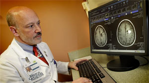 Dr. Mark Malkin, and hes a neuro-oncologist at the Medical College of Wisconsin.