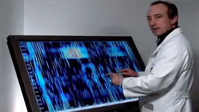 PHOTO: Dr. David Agus discuss the future of medicine and proteomics.