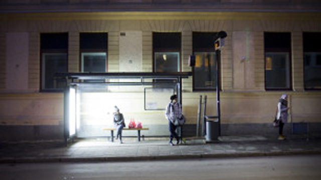 PHOTO: Umea Energi is working to provide light boxes, seen here, in Sweden to combat Seasonl Affective Disorder during the long Swedish winter.