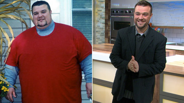 PHOTO: Adam Slack, father of four from New Jersey has lost 376 pounds since 2008.