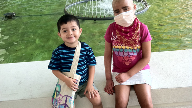 PHOTO:Alejandra and Alejandro Melgar both have severe sickle cell disease