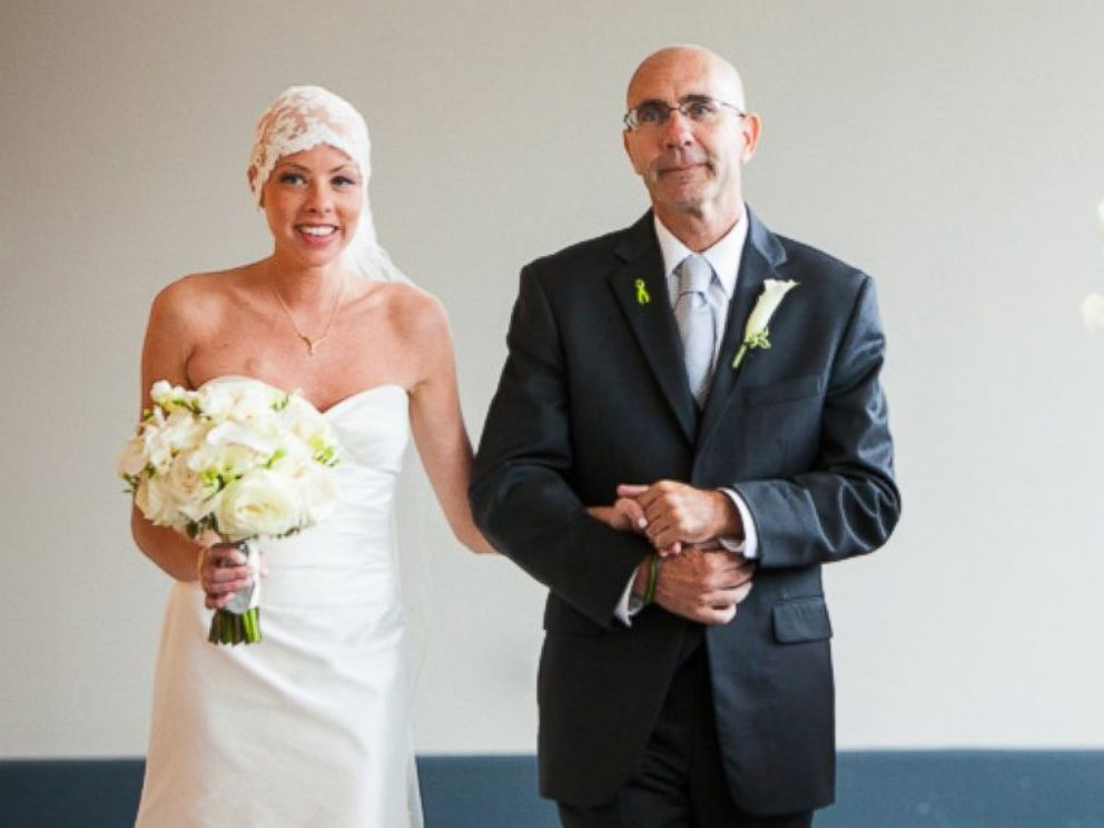 PHOTO: Shannon Jones was diagnosed with lymphoma just months before her wedding.