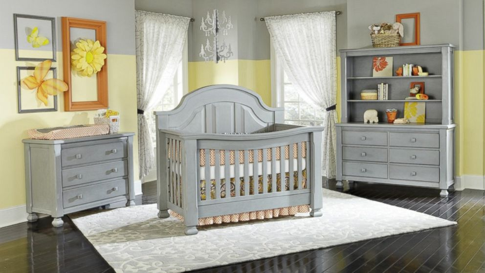 Vintage Grey\' Cribs Recalled Over Lead Paint - ABC News