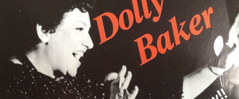 PHOTO: An undated Dolly Baker poster
