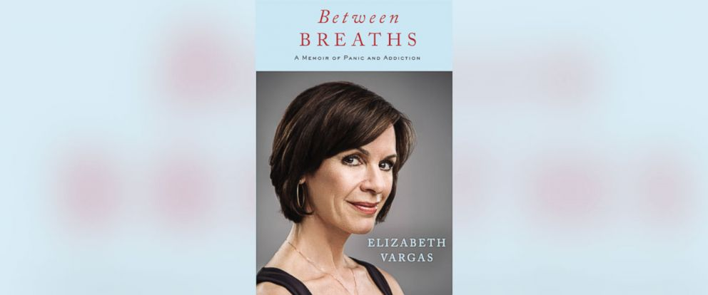 "PHOTO: The book cover for ""Between Breaths: A Memoir of Pain and Addiction"" by Elizabeth Vargas."