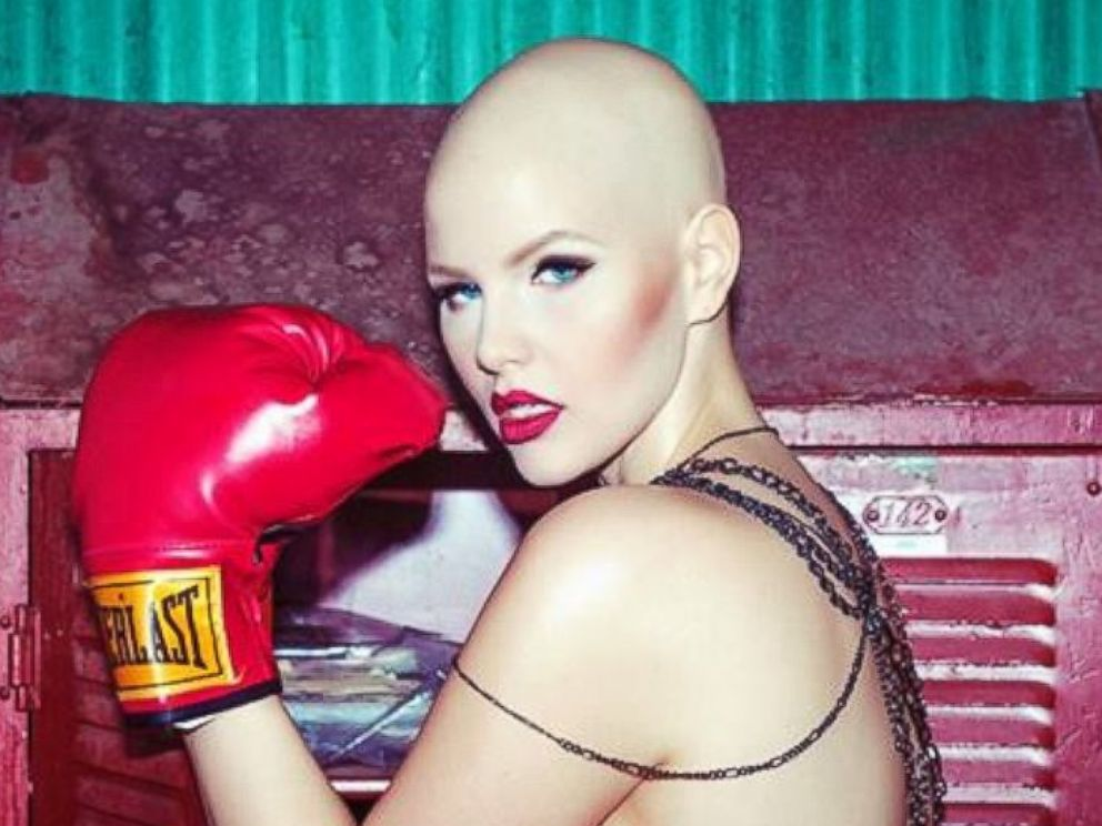 PHOTO: Plus-sized model Elly Mayday is fighting a rare ovarian cancer and womens insecurities about their bodies.