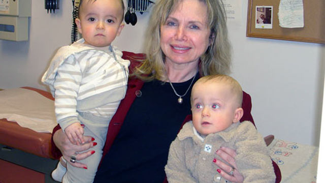 PHOTO: Frieda Birnbaum, 65, of Saddle River, N.J., has five children, including two 5-year-old twin boys. She says she feels more energetic now than she did her in 20s.