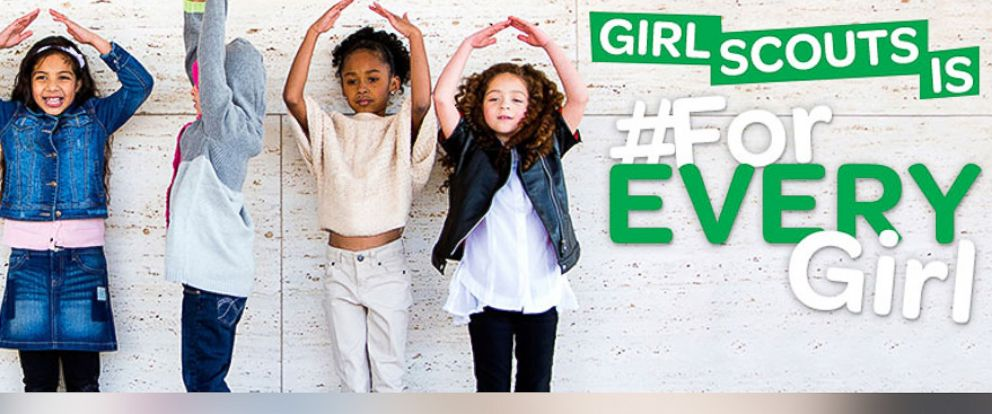 """PHOTO: Girl Scouts of Western Washington posted this photo on their Facebook with the caption, """"Girl Scouts is #ForEVERYGirl!"""""""