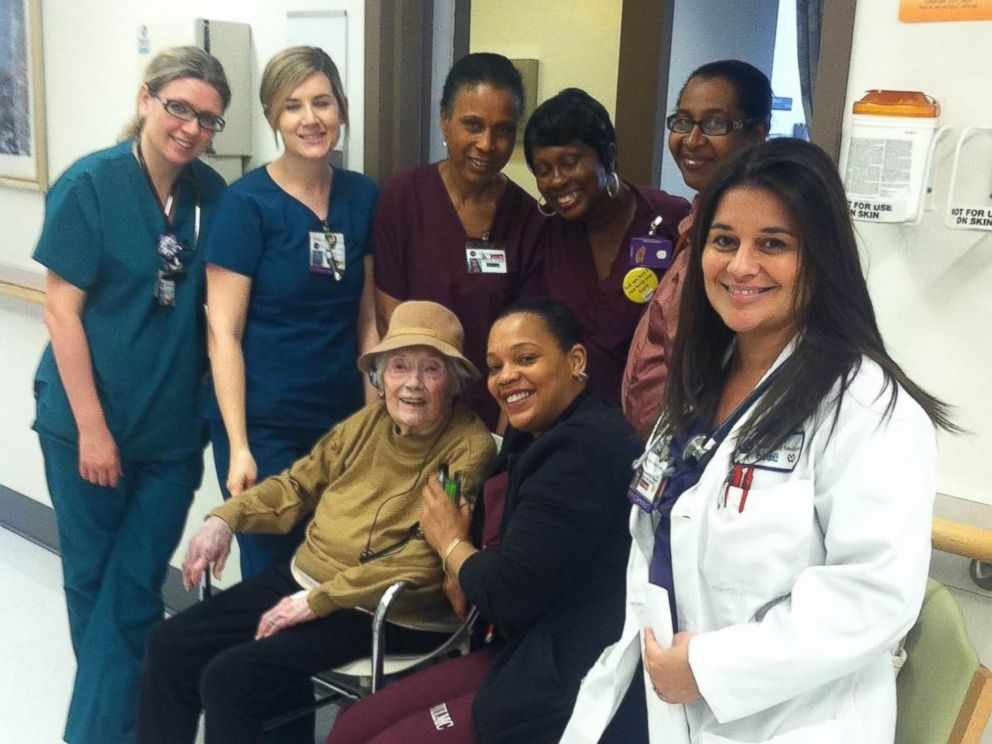 NYC Hospital Charmed by Oldest Patient Ever - ABC News
