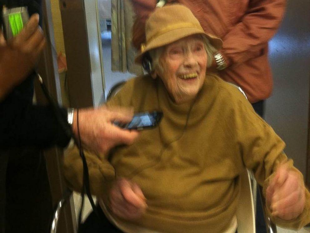 PHOTO: Duffy, a lifelong New Yorker, charmed the hospital staff.