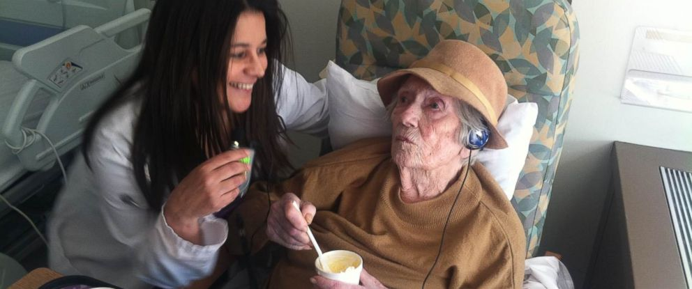 PHOTO: Helen Duffy is NYU Langone's oldest patient ever. She is 105 years old.
