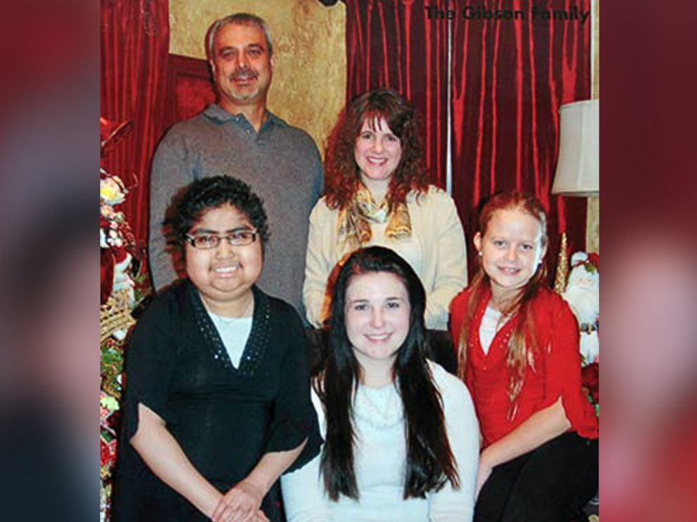 PHOTO: Jennas face is swollen from her medication in this family holiday photo from when she was undergoing treatment.