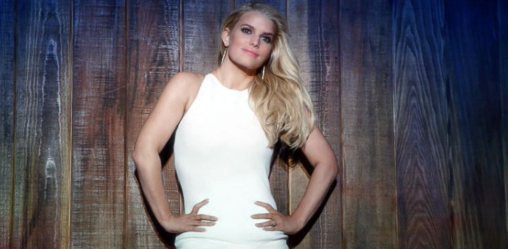 PHOTO: Jessica Simpson is pictured in a Weight Watchers promo.