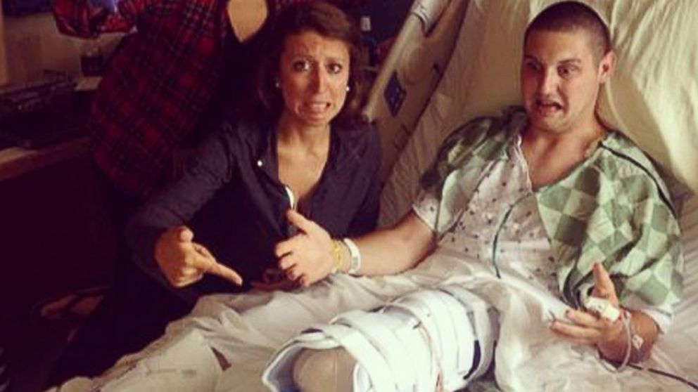 Joey Pleban decided to have an elective amputation after a rare ankle disease left him unable to walk without pain.