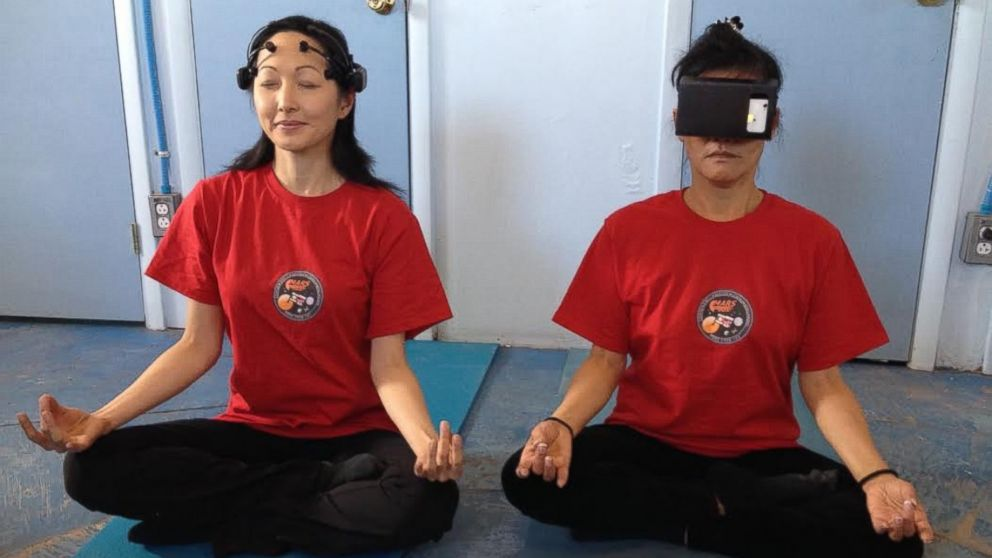 The crew participates in daily yoga and meditation sessions to offset the effects of isolation and confinement on Mars.
